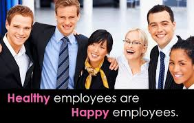 healthy happy employees